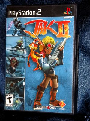 Playstation 2 Game: Jak and Daxter: Jak II