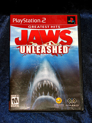 Playstation 2 Game: Jaws Unleashed