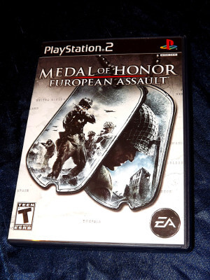 Playstation 2 Game: Medal of Honor: European Assault