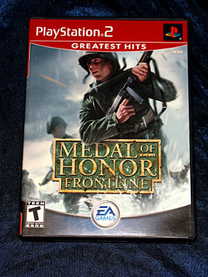 Playstation 2 Game: Medal of Honor: Frontline