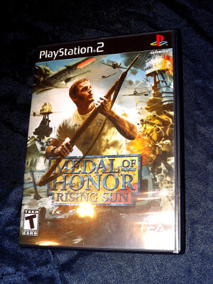 Playstation 2 Game: Medal of Honor: Rising Sun