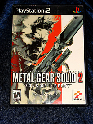 Playstation 2 Game: Metal Gear Solid 2: Sons of Liberty