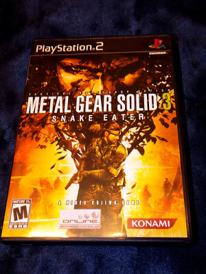 Playstation 2 Game: Metal Gear Solid 3: Snake Eater
