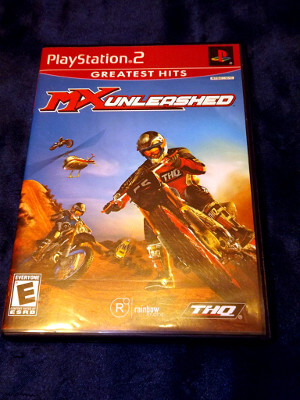 Playstation 2 Game: MX Unleashed