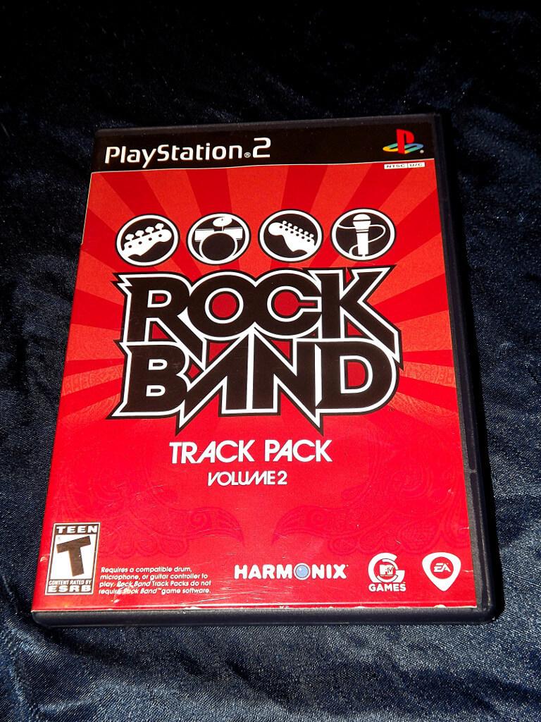rock band track pack 1 ps2. Black Bedroom Furniture Sets. Home Design Ideas
