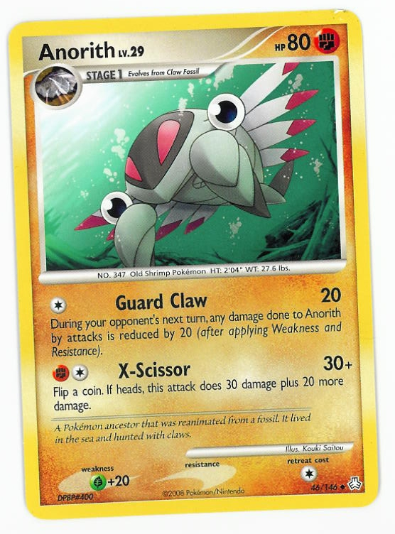 Pokemon Claw Fossil Evolution Images   Pokemon Images