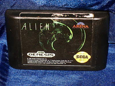 Sega Genesis Game: Alien 3 with Case and Manual