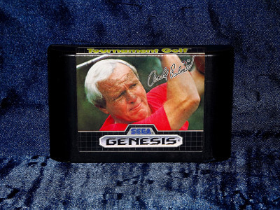 Sega Genesis Game: Arnold Palmer Tournament Golf