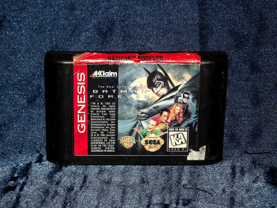 Sega Genesis Game: Batman Forever