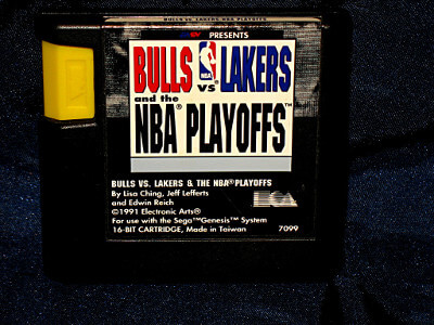 Sega Genesis Game: Bulls vs. Lakers & The NBA Playoffs