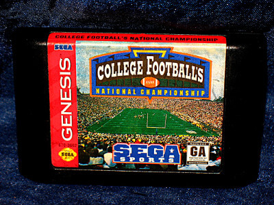 Sega Genesis Game: College Football's National Championship