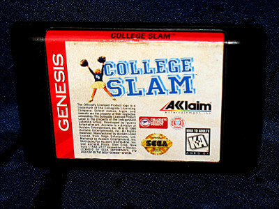 Sega Genesis Game: College Slam