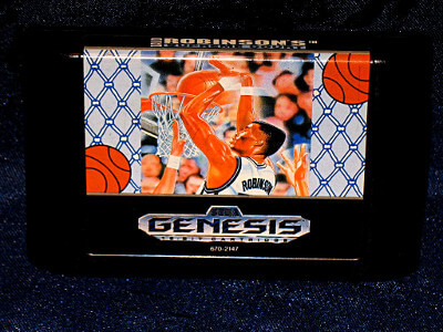 Sega Genesis Game: David Robinson's Supreme Court