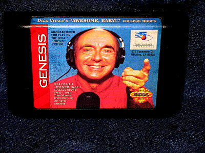 Sega Genesis Game: Dick Vitale's 'Awesome, Baby!' College Hoops