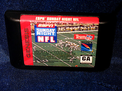 Sega Genesis Game: ESPN Sunday Night NFL