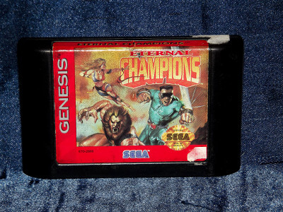 Sega Genesis Game: Eternal Champions