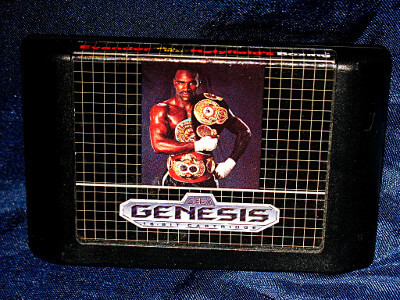 Sega Genesis Game: Evander 'Real Deal' Holyfield's Boxing