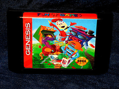 Sega Genesis Game: Fun 'N' Games