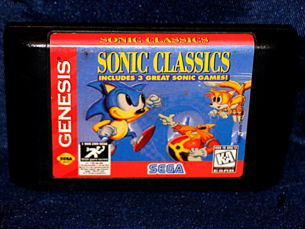 -=Chameleon's Den=- Sega Genesis Game: Sonic the Hedgehog ...