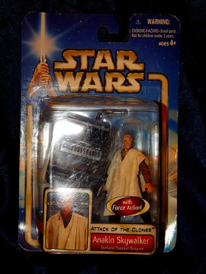 Star Wars Action Figure: Attack of the Clones: Anakin Skywalker