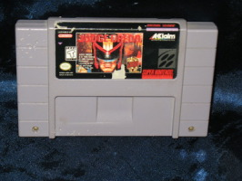 Super Nintendo Game: Judge Dredd