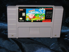 Super Nintendo Game: Kirby's Avalanche
