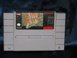 Super Nintendo Game: Sim City