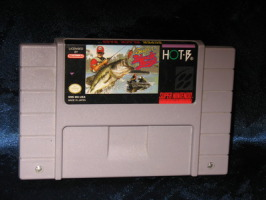 Super Nintendo Game: Super Black Bass
