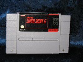 Super Nintendo Game: Super NES Super Scope 6