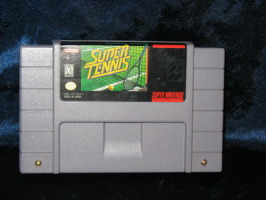 Super Nintendo Game: Super Tennis