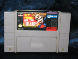 Super Nintendo Game: Tuff E Nuff