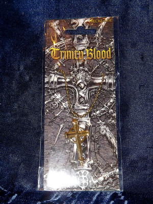 Trinity Blood Necklace: Celtic Cross