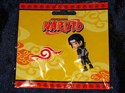 Naruto Pin Set: Anbu Symbol and Uchiha Itachi (PVC)