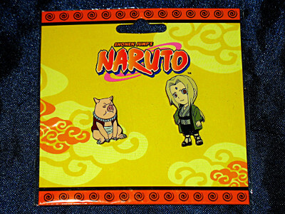 Naruto Pin Set: Tonton and Tsunade (Metal)