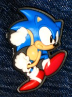 Sonic the Hedgehog Pin: Sonic About to Dash (PVC)