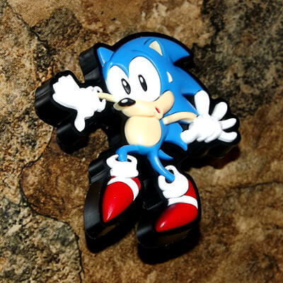 Sonic the Hedgehog Pin: 1¼