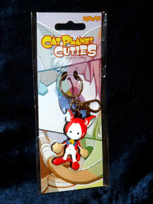 Cat Planet Cuties Keychain: Assist-A-Roid (PVC)