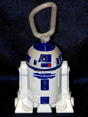 Star Wars Keychain: McDonald's R2-D2