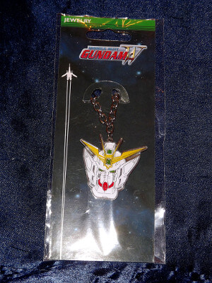 Mobile Suit Gundam Wing Necklace: Wing Zero