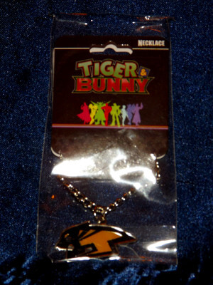 Tiger & Bunny Necklace: Tiger Logo