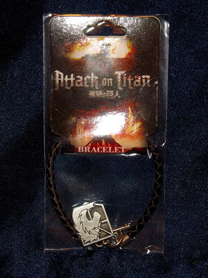 Attack on Titan Bracelet: Military Police Emblem (Metal)