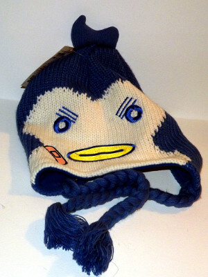 Penguindrum Beanie Laplander: Knitted
