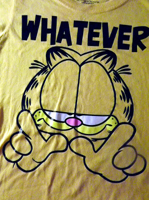 Garfield T-Shirt: Whatever (Large)