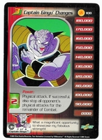 Dragon Ball Z CCG Character Card: Captain Ginyu Changes