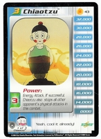Dragon Ball Z  CCG Character Card: Chiaotzu