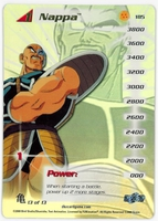 Dragon Ball Z  CCG Character Card: Nappa (Hard Foil)