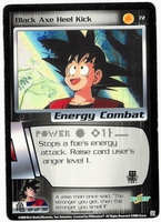 Dragon Ball Z CCG Game Card: Black Axe Heel Kick