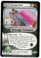 Dragon Ball Z CCG Game Card: Black Energy Web