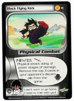 Dragon Ball Z CCG Game Card: Black Flying Kick