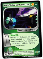 Dragon Ball Z CCG Game Card: Black Water Confusion Drill